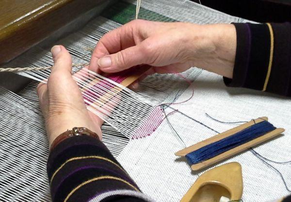 Weben von Mustern